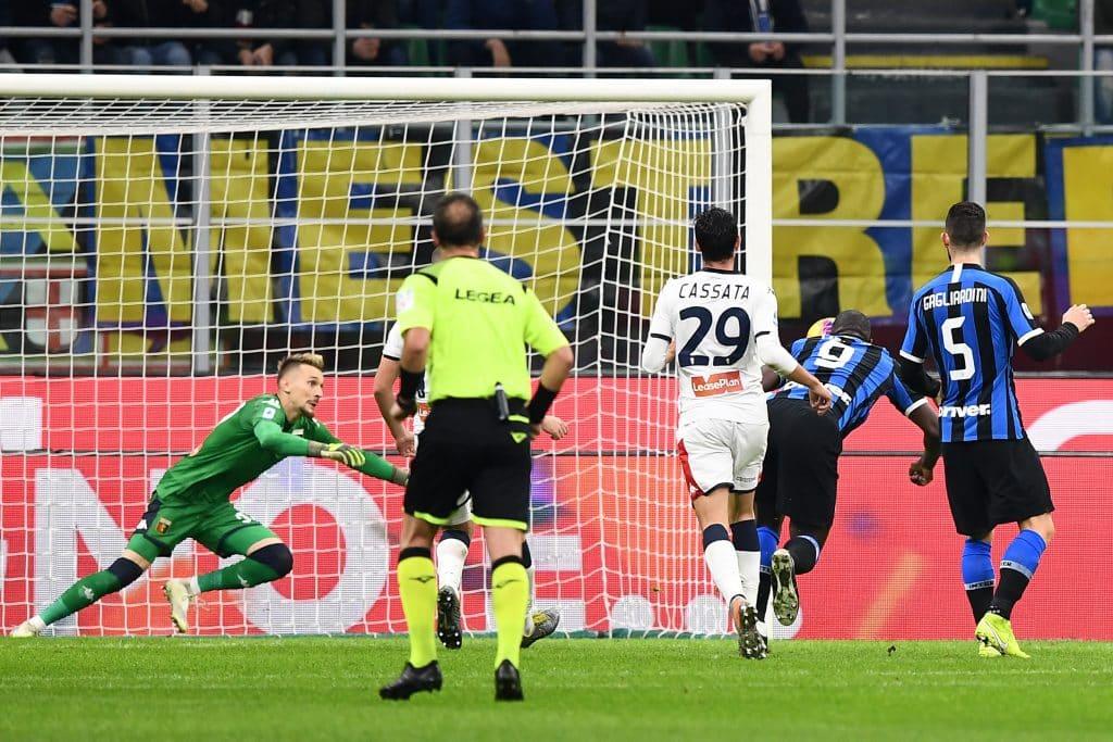 gol Lukaku, Inter-Genoa