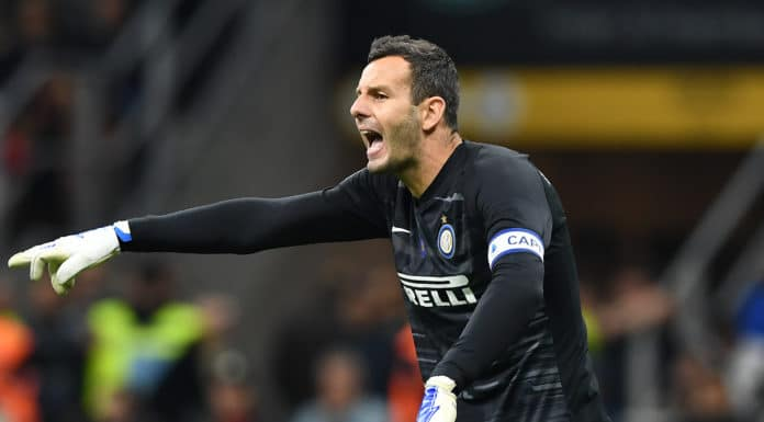 Handanovic, Inter-Atalanta