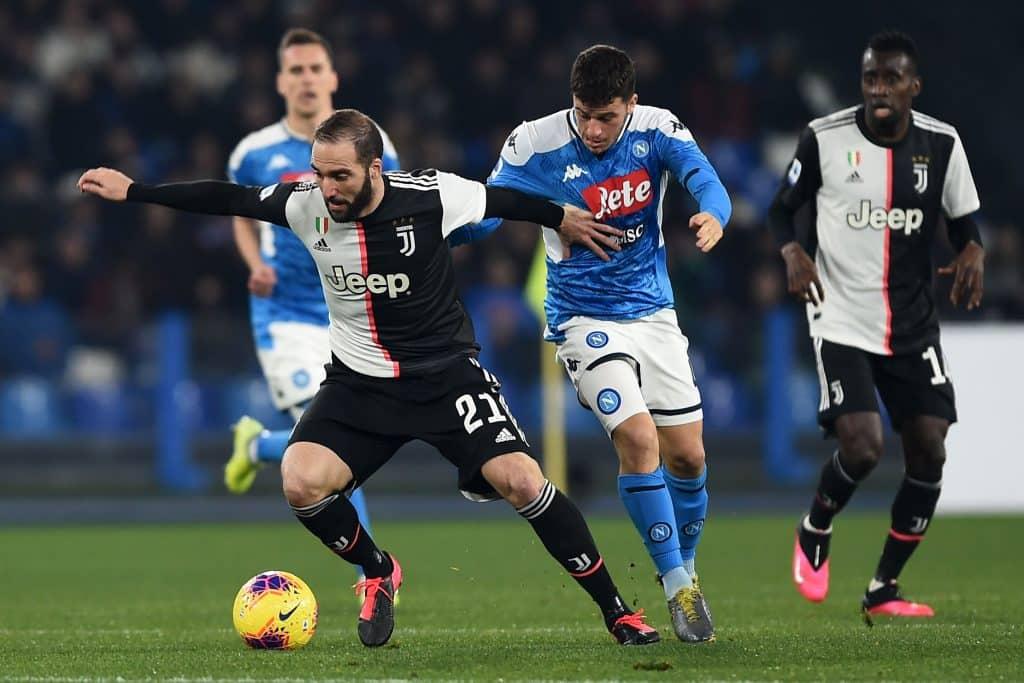 Higuain-Demme, Napoli-Juventus