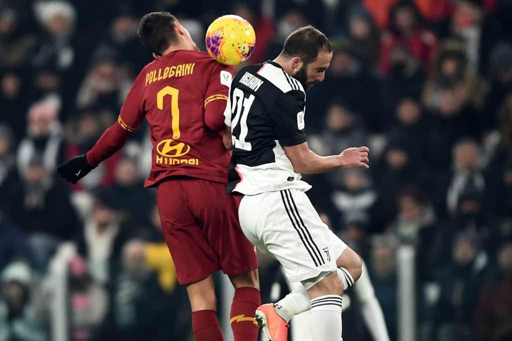 Higuain-Pellegrini, Juventus-Roma