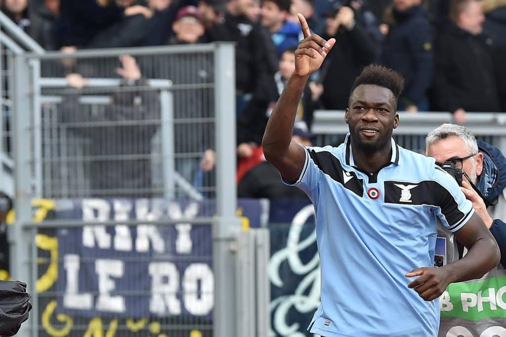 esultanza gol Caicedo, Lazio-Sampdoria