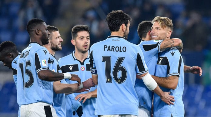 esultanza gol Immobile, Lazio-Cremonese