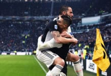 esultanza gol Ronaldo, Juventus-Cagliari