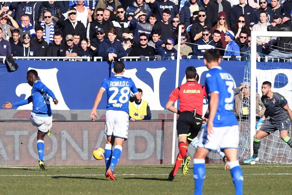 gol Balotelli, Brescia-Lazio
