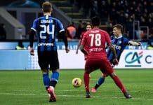 gol Barella, Inter-Fiorentina