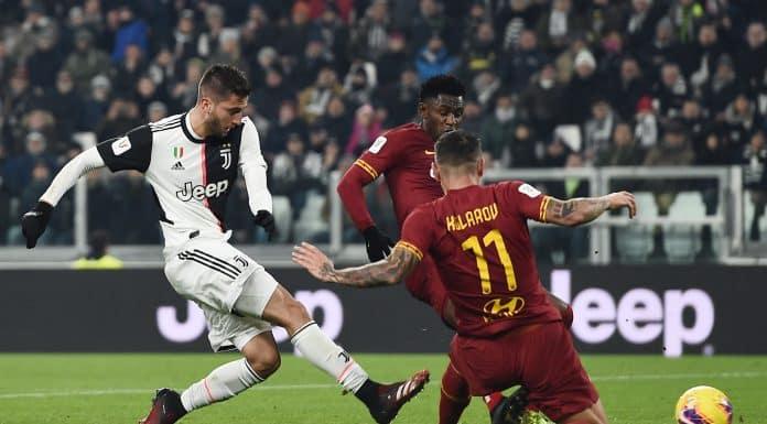 gol Bentancur, Juventus-Roma