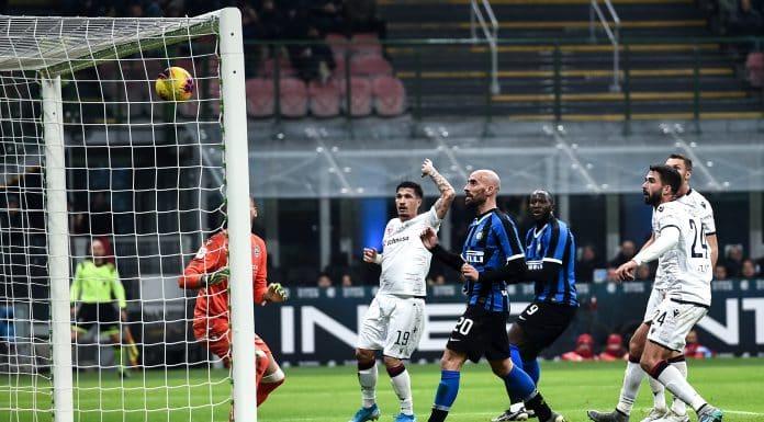 gol Borja Valero, Inter-Cagliari