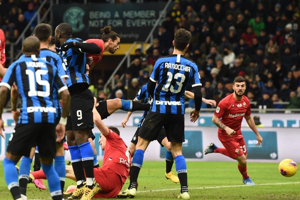gol Caceres, Inter-Fiorentina