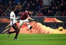 gol Calhanoglu, Milan-Torino