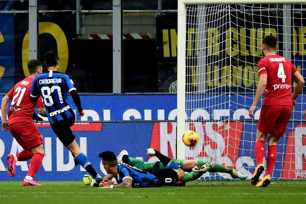 gol Candreva, Inter-Fiorentina