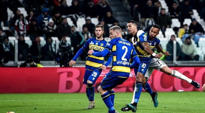 gol Cristiano Ronaldo, Juventus-Parma
