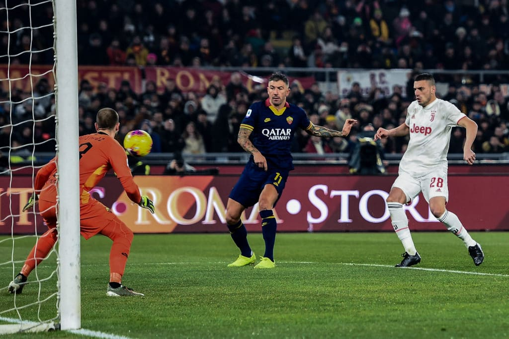 gol Demiral, Roma-Juventus