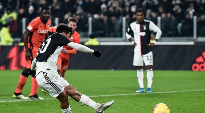 gol Dybala, Juventus-Udinese