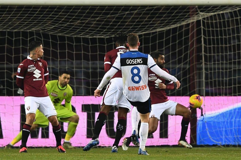 gol Gosens, Torino-Atalanta