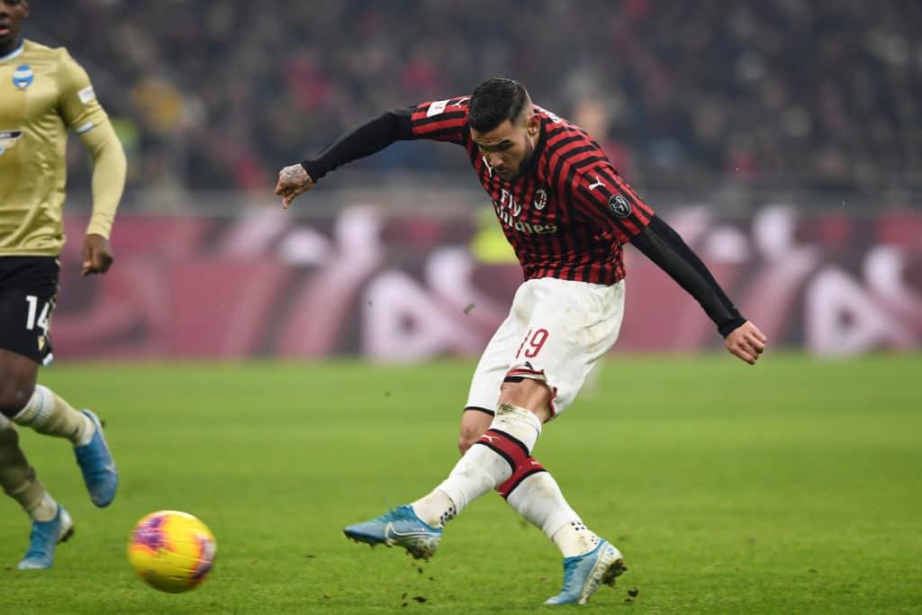 gol Hernandez, Milan-Spal