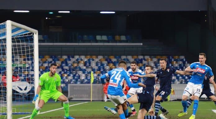 gol Insigne, Napoli-Lazio