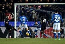 gol Rebic, Brescia-Milan