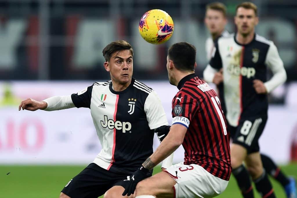 Dybala-Romagnoli, Milan-Juventus