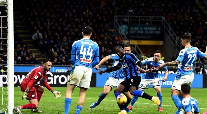 Lukaku-Ospina, Inter-Napoli