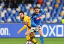 Mertens-Messi, Napoli-Barcellona
