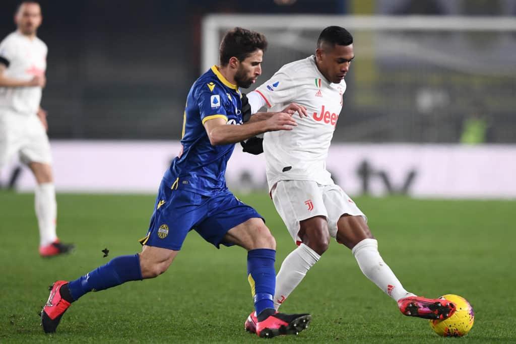 Sandro-Borini, Verona-Juventus