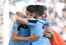 esultanza gol Correa, Lazio-Bologna