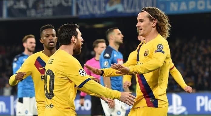 esultanza gol Griezmann, Barcellona