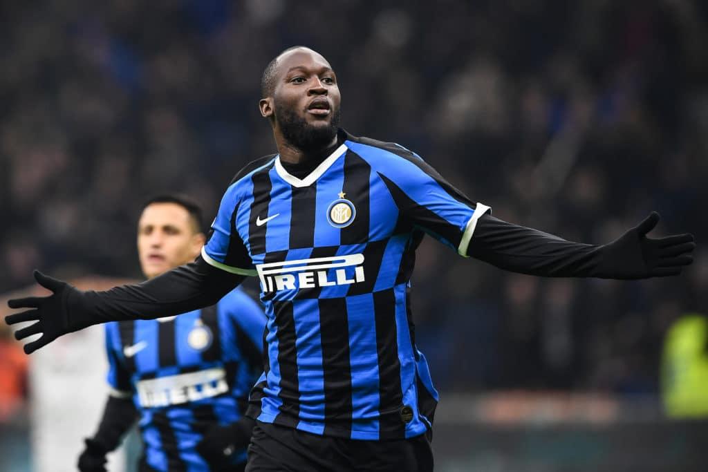 esultanza gol Lukaku, Inter