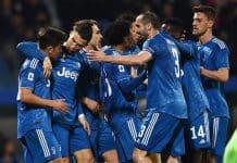 esultanza gol Ronaldo, Spal-Juventus