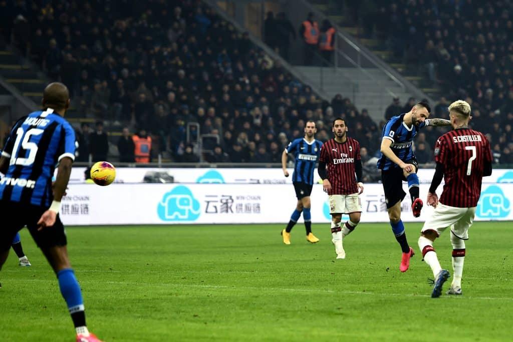 gol Brozovic, Inter-Milan