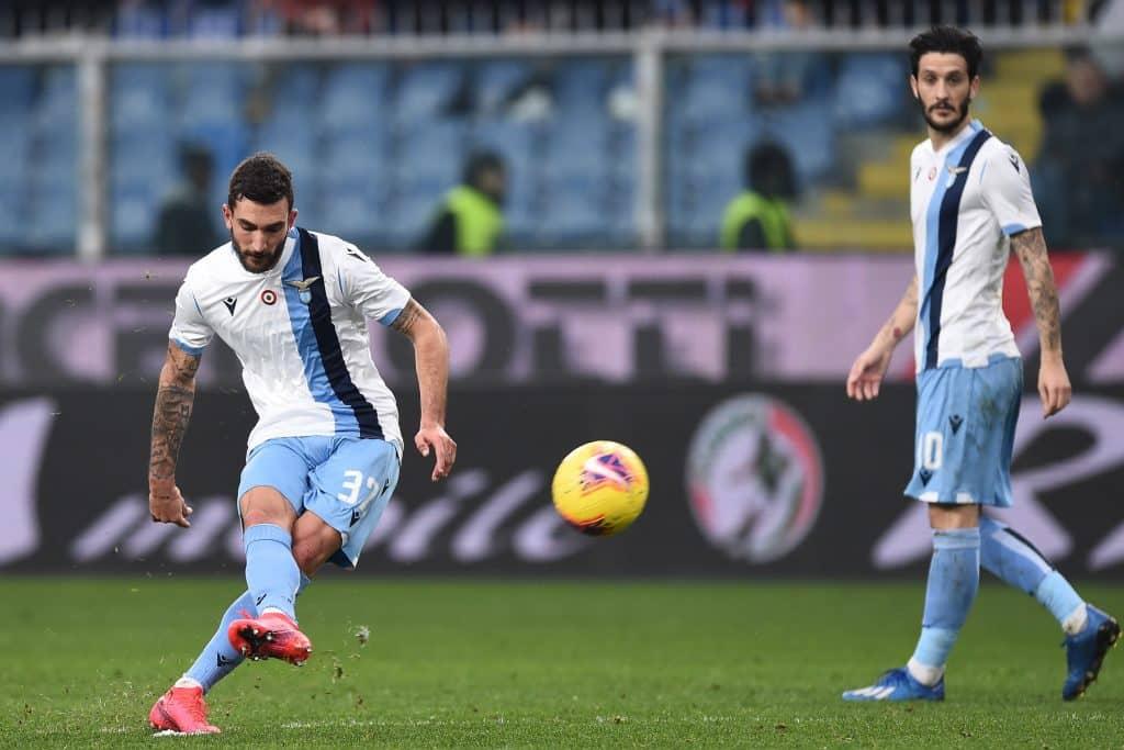 gol Cataldi, Genoa-Lazio