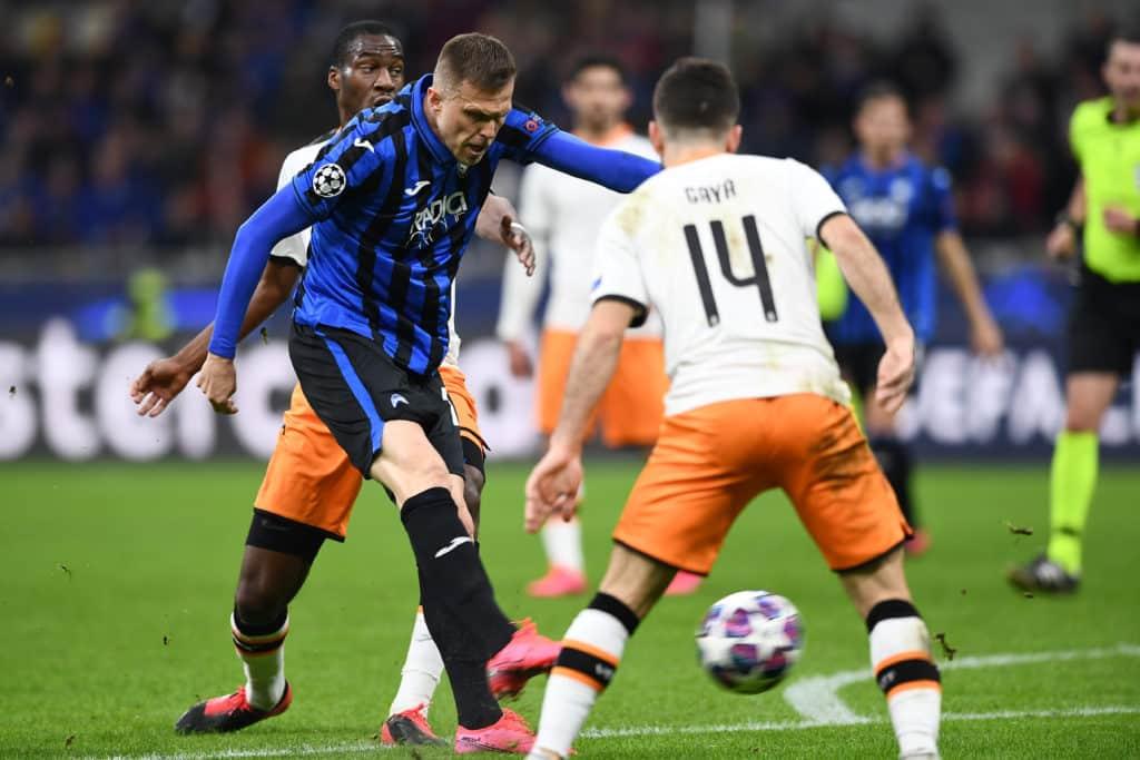 gol Ilicic, Atalanta-Valencia