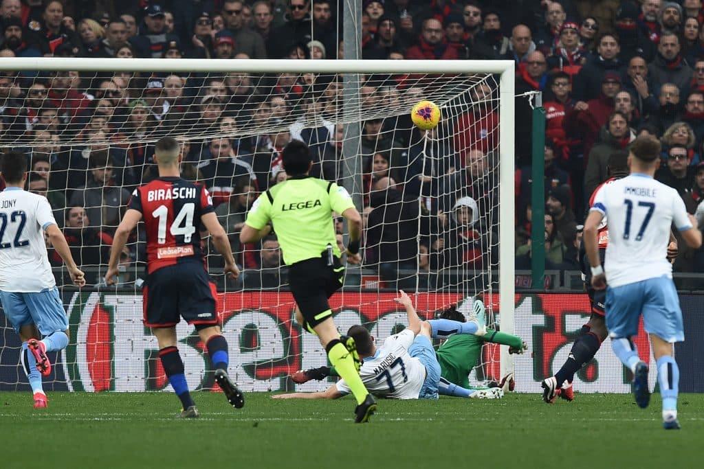 gol Marusic, Genoa-Lazio