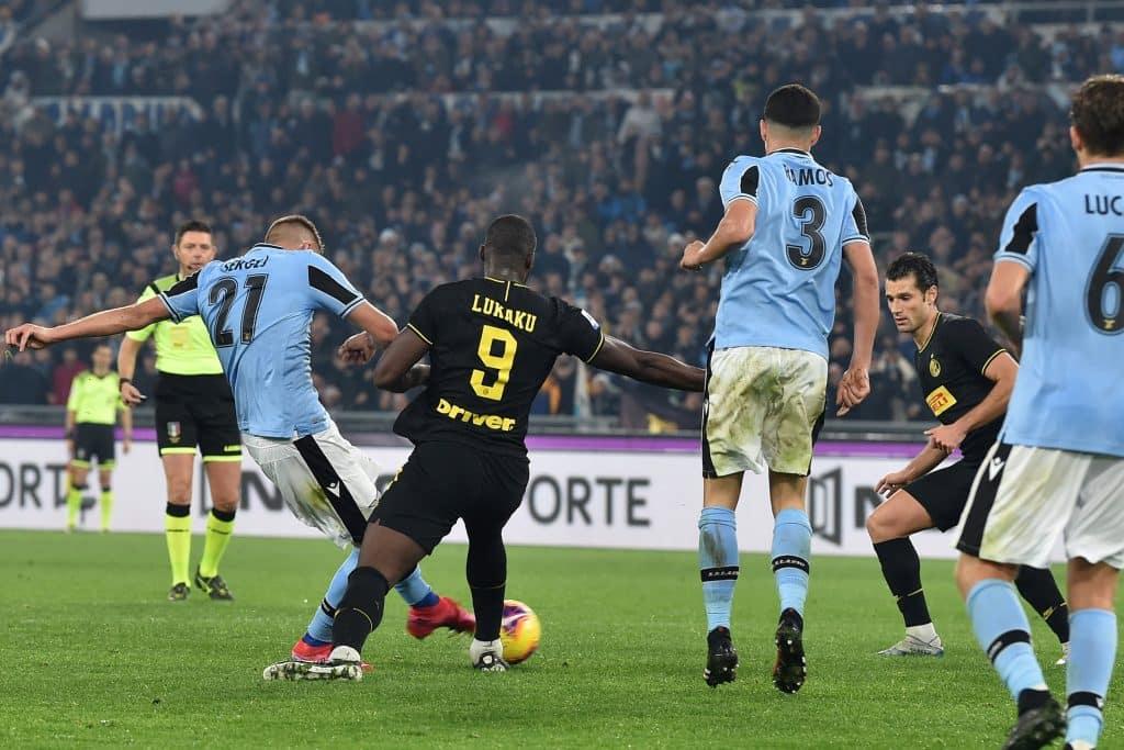 gol Milinkovic-Savic, Lazio-Inter