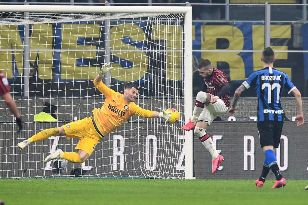 gol Rebic, Inter-Milan