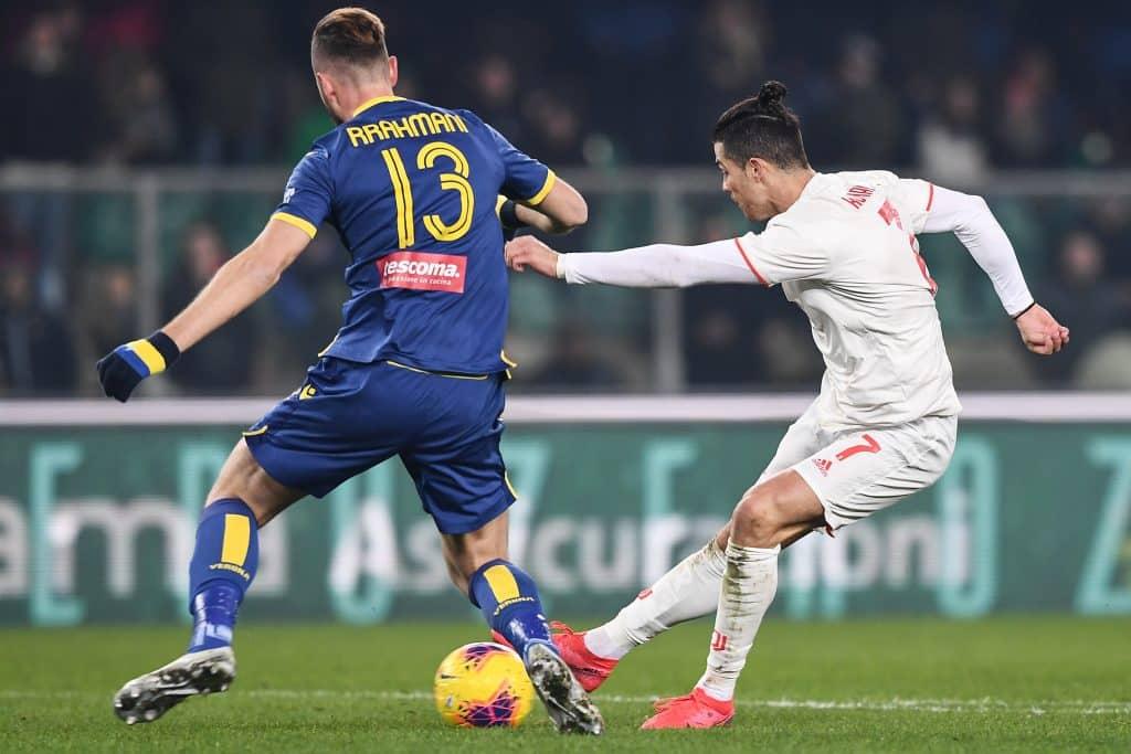 gol Ronaldo, Verona-Juventus