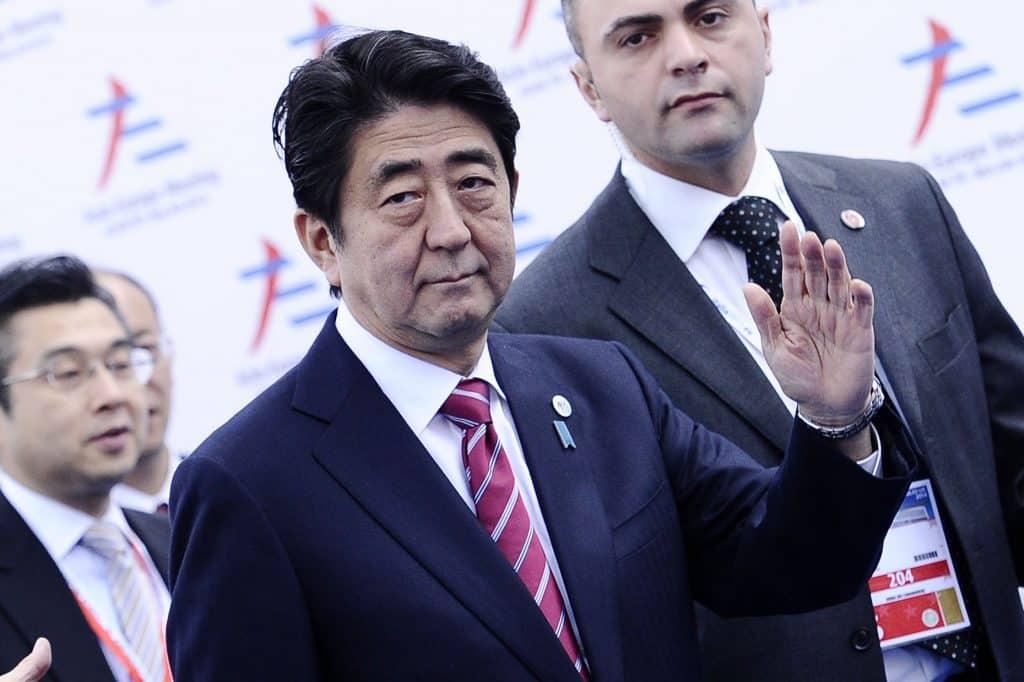 Shinzo Abe, presidente Giappone