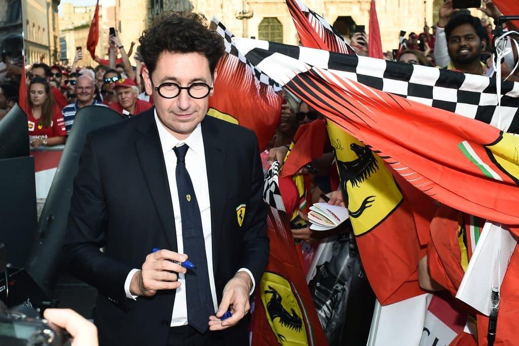 Binotto, team principal Ferrari
