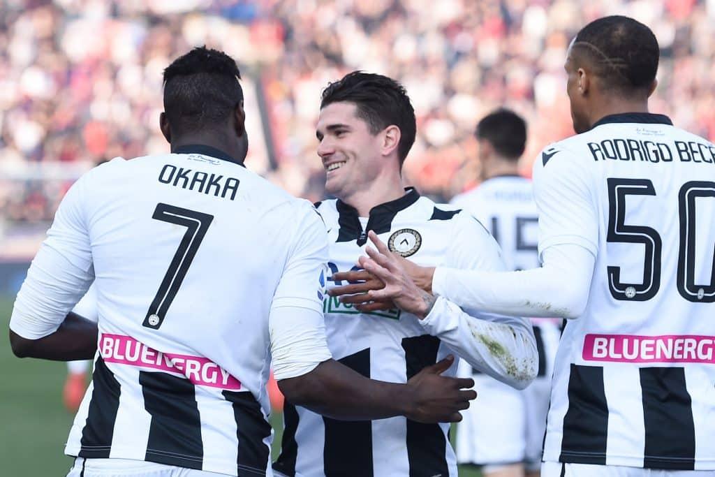 esultanza Udinese