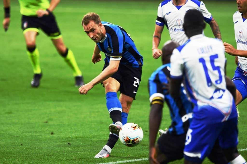 Eriksen, Inter-Sampdoria