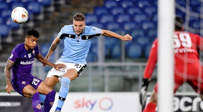 Milinkovic-Dalbert, Lazio-Fiorentina
