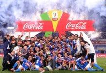 esultanza Napoli, Coppa Italia
