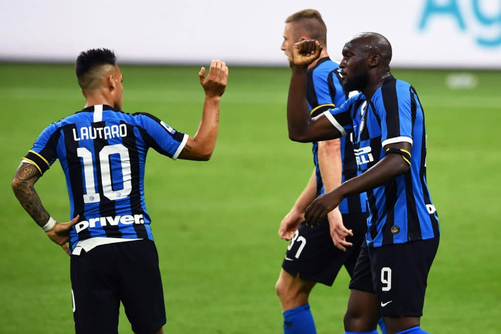 esultanza gol Lukaku, Inter-Sampdoria