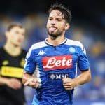 esultanza gol Mertens, Napoli-Inter