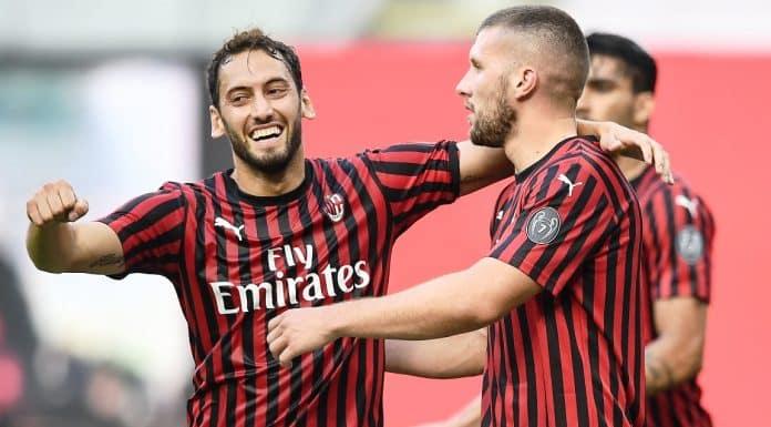 esultanza gol Milan
