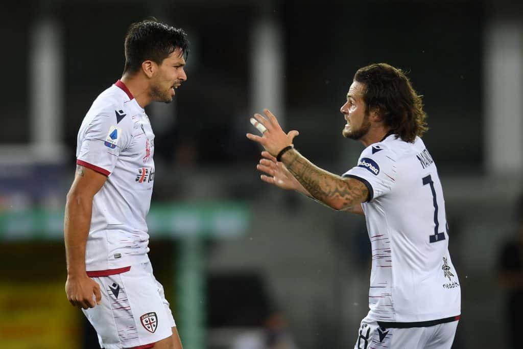 gol Simeone, Verona-Cagliari
