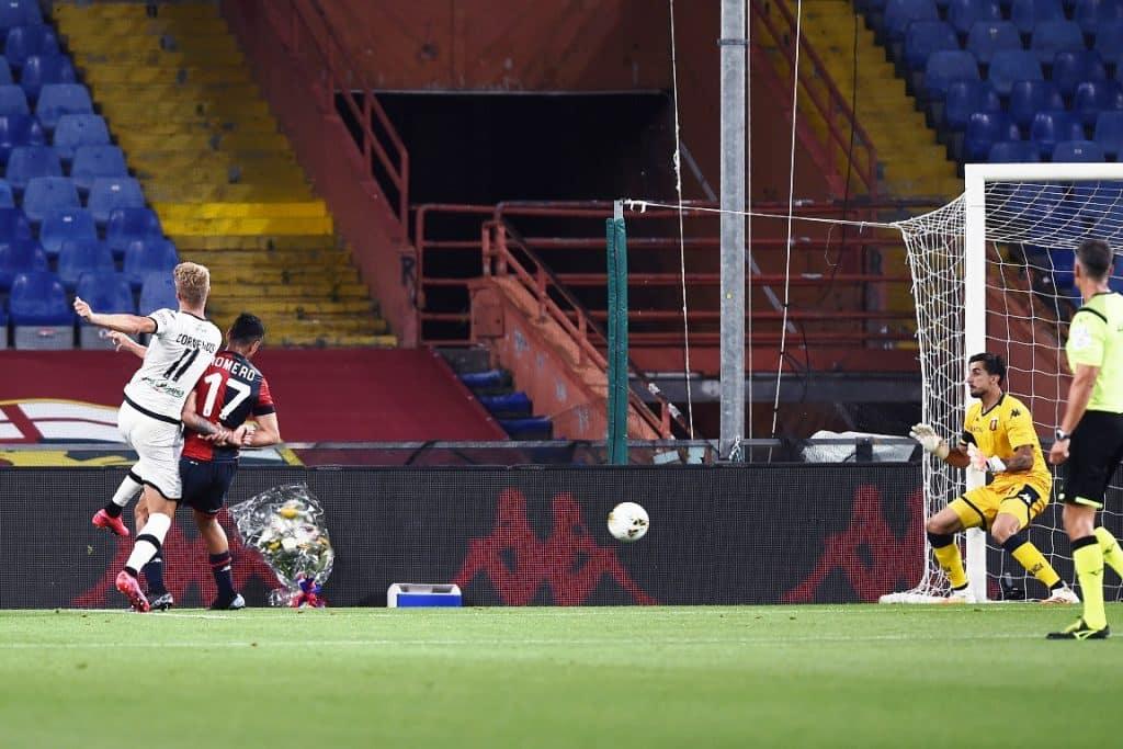 gol Cornelius, Genoa-Parma