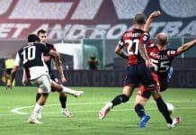 gol Dybala, Genoa-Juventus