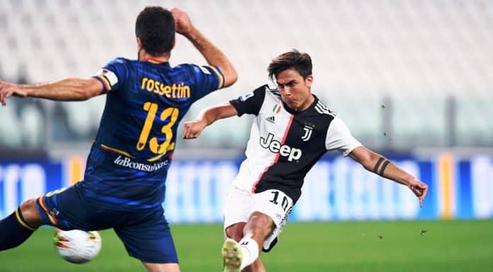 gol Dybala, Juventus-Lecce