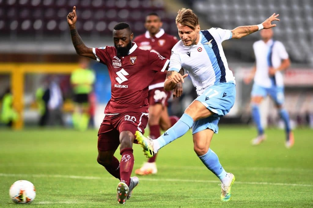 gol Immobile, Torino-Lazio